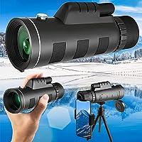 単眼鏡 40倍 高倍率 高級プリズムBak4搭載 高透過率 広角 耐衝撃 防水霧 人気 軽量 IPX7防水 7 [並行輸入品]
