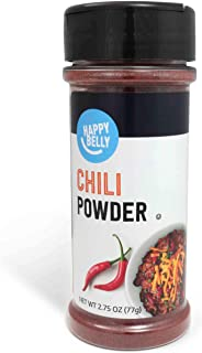 Amazon Brand - Happy Belly Chili Powder, 2.75 Ounces