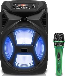 $62 » Sponsored Ad - Technical Pro 500 Watts Portable 8 Inch Bluetooth Speaker w/Woofer & Tweeter, True Wireless Stereo w/Digita...