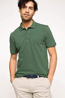 DeFacto Basic Polo T-shirt Erkek Polo Yaka T-Shirt