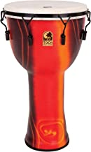 Toca SFDMX-14FB Freestyle Mechanically Tuned 14-Inch Djembe with Bag - Bali Red Finish