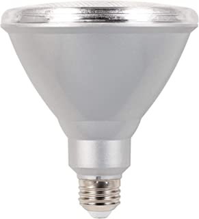 Westinghouse Lighting 4311400 15 (90-Watt Equivalent) PAR38 Flood Dimmable Bright White Indoor/Outdoor Energy Star Medium Base, 2 Pack LED Light Bulb, Two, Clear