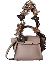 ZAC Zac Posen - Eartha Iconic Novelty Top-Handle Mini - Butterfly Applique