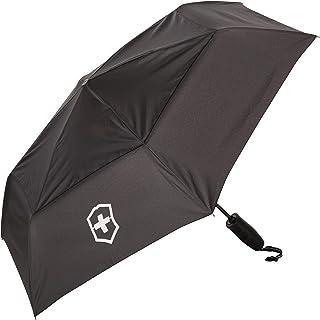 Victorinox 31170701 Paraguas Plegable Unisex, Negro, 33 cm