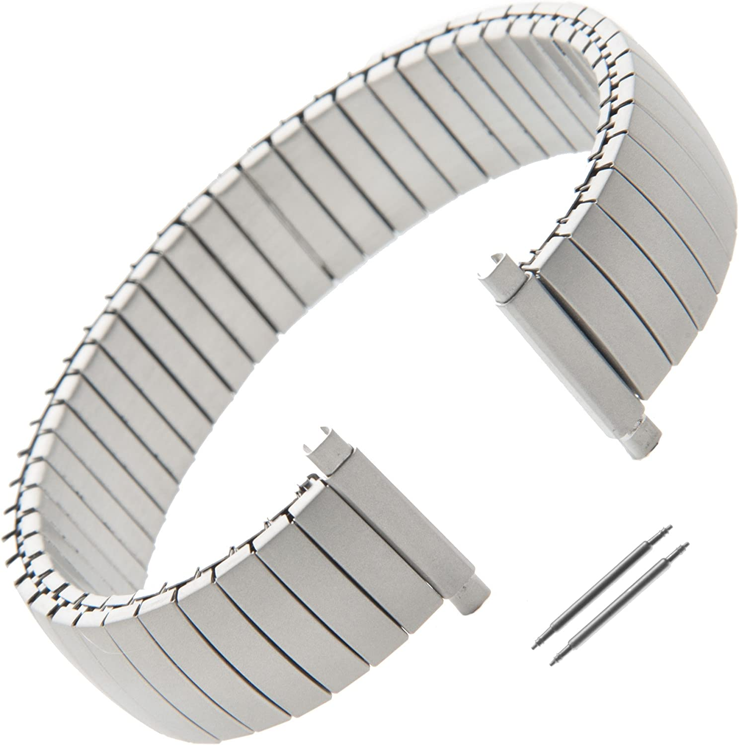 unisex Gilden Gents Expansion 16-20mm Extra-Long Stainless Max 45% OFF Matte Steel