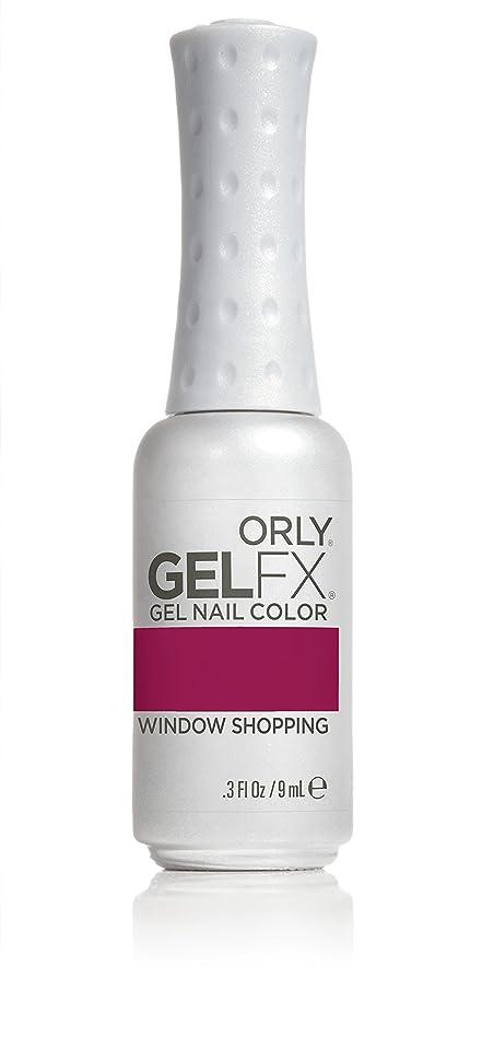 反逆者百万禁止Orly GelFX Gel Polish - Window Shopping - 0.3oz / 9ml