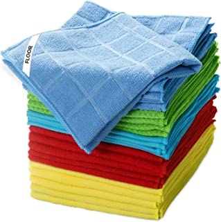 Clean Rags 25 Pack No Fabric Soft Microfiber Kitchen Car