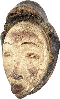 Punu Maiden Spirit Mask Mukudji Gabon African Art Collection