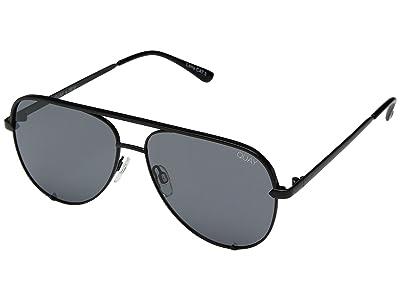 QUAY AUSTRALIA High Key Mini QUAY X DESI (Black/Smoke Polarized) Fashion Sunglasses