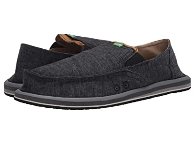 Sanuk Pick Pocket Hemp (Black 1) Men