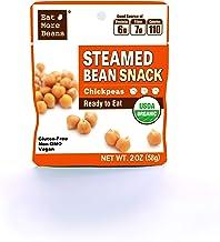 Steamed Bean Snack Series – STEAMED CHICKPEAS (Organic Chickpeas, Water, Sea Salt,..