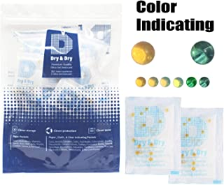 STRONG 5 Pack Moisture Absorber /& Kitchen Bathroom Wardrobe Hanging Hygroscopic Anti-Mold Deodorizing Moistureproof Desiccant Bag ,Odor Eliminator Hanging Bag,Eliminates Musty Odors MR