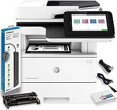 $1267 » HP Laserjet Enterprise Multifunction M528dn Monochrome Laser Printer with Duplex Printing (1PV64A) with Power Strip Surge ...