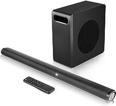 Sound Bar with Subwoofer, 140w TV 2.1 CH Soundbar, Superior Surround Sound System, Works with 4K & HD & Smart TV,Bluetooth...