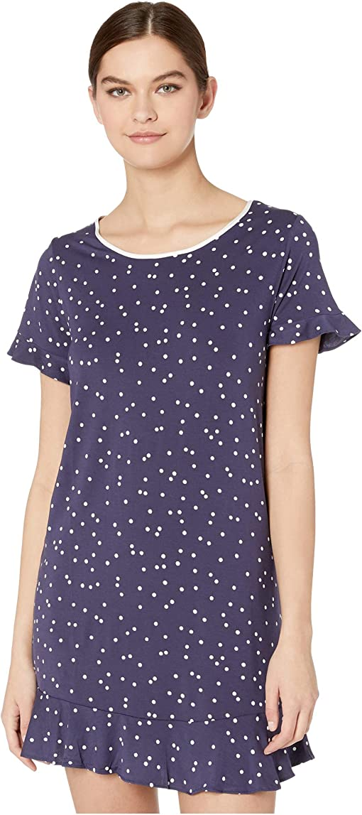 Navy Scatter Dot