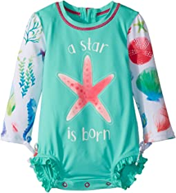 Hatley Kids - Ocean Treasures Mini Rashguard Swimsuit (Infant)