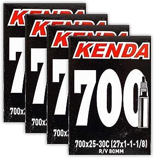 Kenda 700x25-30c 80mm PV 公路自行车内管 - 4 个装