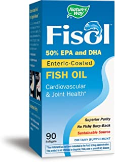 Natures Way Fisol Fish Oil, 90 ct