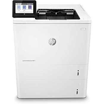 HP Laserjet Enterprise M611x Monochrome Duplex Printer with Dual-Band Wi-Fi and Extra Paper Tray (7PS85A)
