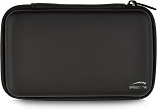 Speedlink Caddy Storage Bag for N3DS/NDSI/NDSL (Rigid Shell with Interior Storage and Zip)