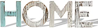 """Barnyard Designs Wood Cutout Letter Home Sign Table Top Decor Rustic Primitive Country Home Decor 15.25"""" x 4.75"""""""