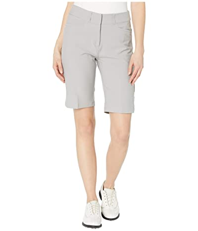 adidas Golf Solid Bermuda Shorts (Medium Solid Grey) Women