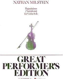 Nathan Milstein Paganiniana For Violin Vln