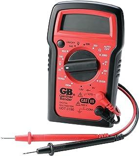 Gardner Bender GDT-3190 Digital Multimeter, 4 Function, 14 Range, Tests AC/DC Voltage,..