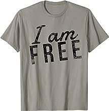 I am free - Christian Faith Saying - Freedom in Jesus Christ