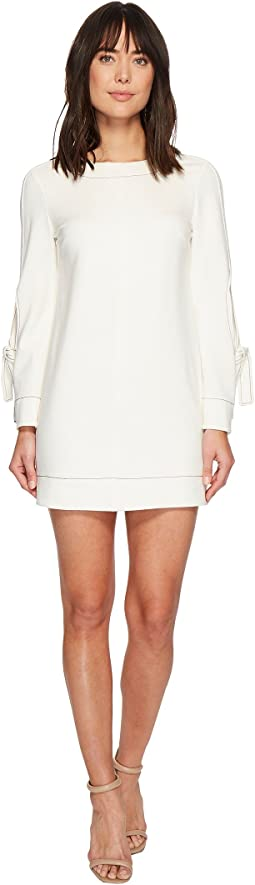 Laundry by Shelli Segal - Exposed Elbow Dress with Contrast Stitching