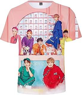 Unisex BTS T-shirt Bangtan Boys 3D Print Short Sleeve Shirts Novelty Summer Top Tees Kpop Fashion Street Tshirt For Girls Teens
