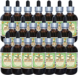 Wei Ling Xian, Chinese Clematis (Clematis Terniflora) Glycerite, Organic Dried Root Alcohol-Free Liquid Extract (Brand Name: HerbalTerra, Proudly Made in USA) 20x4 fl.oz (20x120 ml)