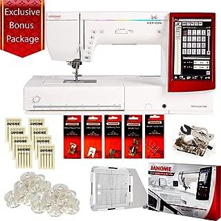 Janome Horizon Memory Craft 14000 Sewing Machine BONUS PACKAGE