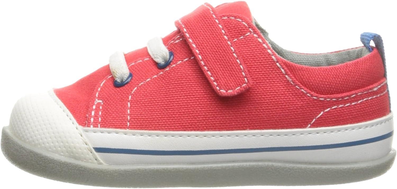 See Kai Run Kids Stevie II Red Canvas Boat Shoe