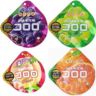 UHA味覚糖 コロロ 最新4種セット (各種1個/計4個)2018年冬ver