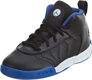e128dd0e7795 Jordan Boy s Jumpman Pro Basketball Shoes Black Varsity Royal-Metallic  Silver 4C