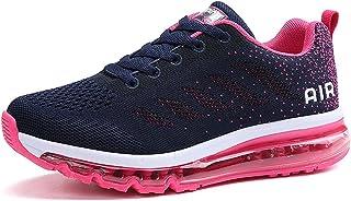 Unisex Scarpe da Ginnastica Basse Sneakers Sportive Running Fitness Gym Shoes