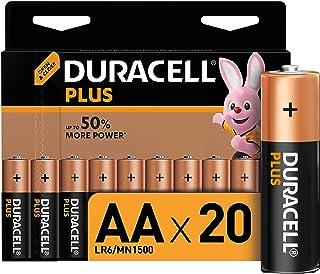 Duracell Plus AA Mignon Alkaline Batterien LR6, 20er Pack