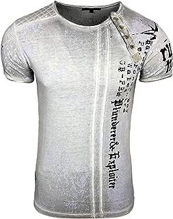 RUSTY NEAL Rock Shirt Herren T-Shirt Jersey Freizeit-Shirt Schwarz SALE