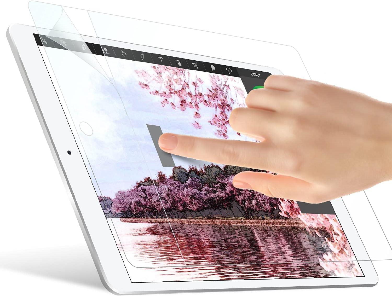 ELECOM Pencil-Feel Screen Protector Compatible with iPad 9.7