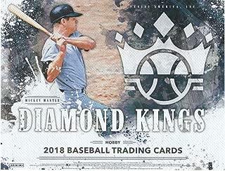 2018 Diamond Kings Baseball Hobby Box (12 Packs/8 Cards: 2 Autograph or Memorabilia, 3 Framed Parallels, 2 SPs, 2 Variations, 11 Inserts)