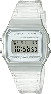 Casio Digital Unisex Resin F-91WS-7DF