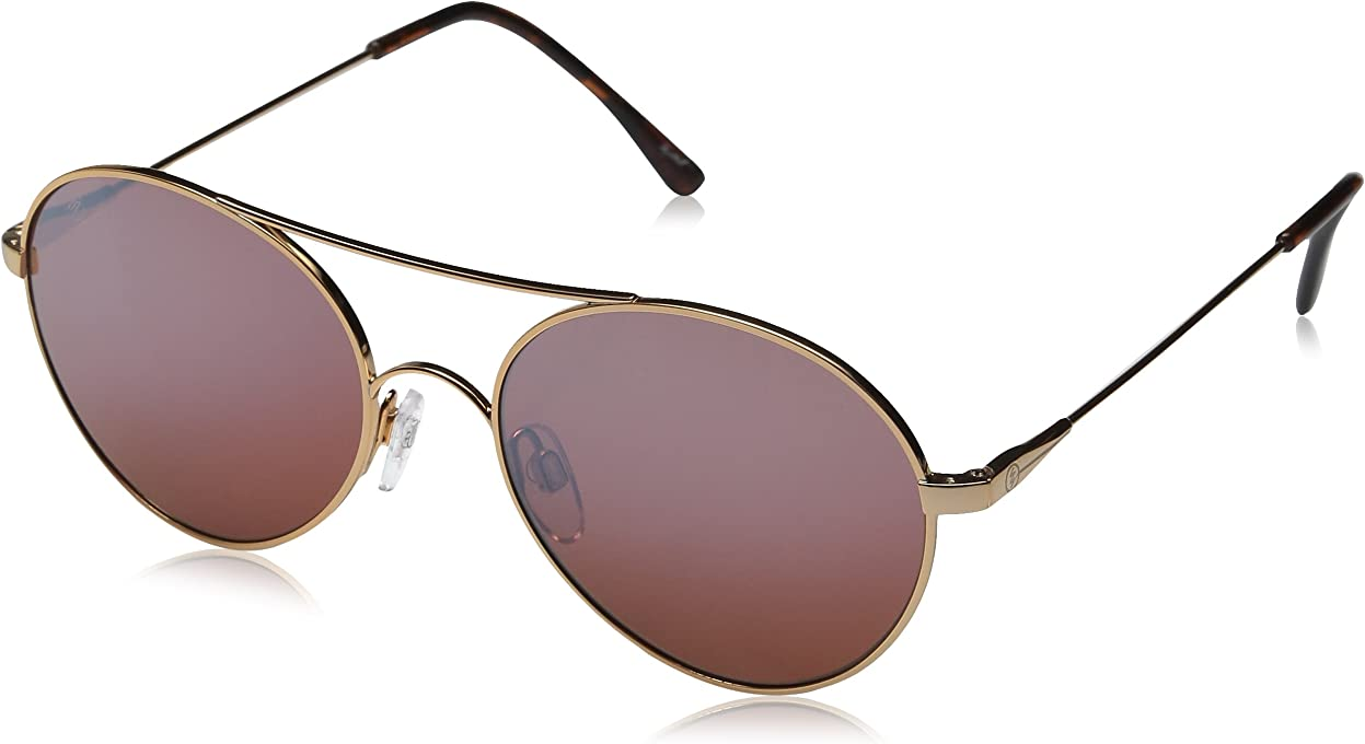 Electric Women's HUXLEY ROSE EE13154815 Sunglasses, Rose Gold, 52 mm
