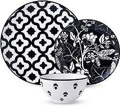 Wisenvoy Dinnerware Sets Plate Set Ceramic Dish Set 12Pcs Dishes Set Plate Sets