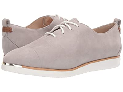 Cole Haan Grand Ambition Lace-Up (Paloma WR Suede/British Tan/Ivory) Women