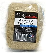 Brass Wool- Skein Pad Wad (Fine Grade, 100 Gr.)