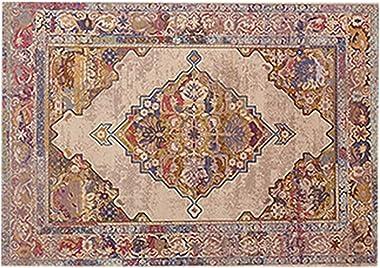 Royare Home Decorations mat B28 Home Non-Slip Rectangle Carpet European Style Bedend Bedside Blanket Room Area Rugs Mat,B,6&#