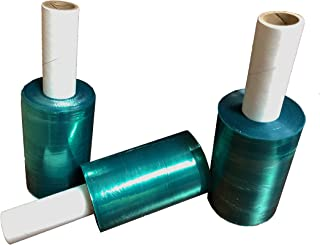 Movers Stretch Wrap Tinted Green Extended Core Down Gauge Film to Extend Shelf Life for 5