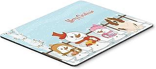 Caroline's Treasures Merry Christmas Carolers Basset Hound Mouse Pad,  Multicolor, 7.75x9.25 (BB2352MP)
