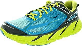 One Men's M Clifton Citrus/Cyan/Grey Running Shoe 14 Men US